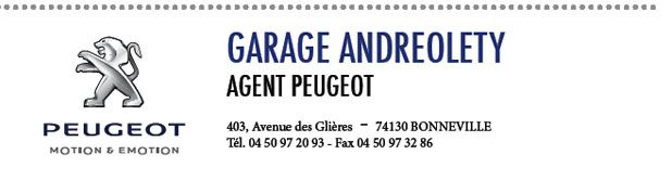Garage Andreolety